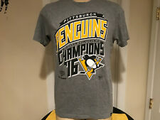 2016 Eastern Conference Champions Pittsburgh Penguins Mens Tshirt 47 Brand Med