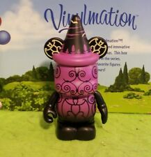 "Disney Vinylmation 3"" Park Set 1 Poster Series Haunted Mansion Creepy Wallpaper"