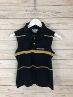 REEBOK CLASSIC Sleeveless Polo Shirt - Large - Great Condition - Women's