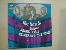 "BEACH BOYS:Break Away-Celebrate The News-France 7""CapitolEMI 2C 006-80.091 M PSL"