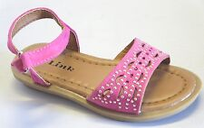 Girl Dress Sandals (indie) TODDLER Dress Shoes Party Shoes Black Fuchsia White