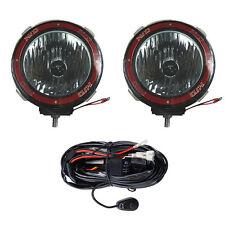 2pcs 4 Inches 4x4 Off Road 6000k 55w Xenon Hid Fog Lamp Light Flood W Relay