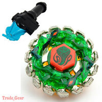 POISON SERPENT BB-69 BEYBLADE Masters Fusion Metal+GRIP+BLUE SPIN LAUNCHER