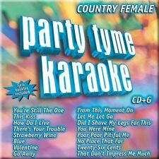 Party Tyme Karaoke - Country Female (16-song CD+G), Party Tyme Karaoke, Good Enh