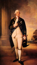 GEORGE III KING OF ENGLAND UK PAINTING BY GAINSBOROUGH ON CANVAS REPRO LARGE