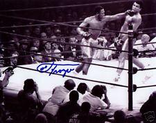 Joe Frazier Boxing Champion Left Hook SIGNED 8x10 Photo COA!