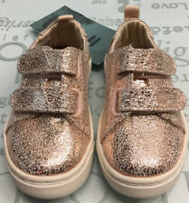 Toms Toddler Canvas Metal Gold Size T 5.��