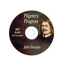 John Bunyan Pilgrim's Progress-MP3 CD Audiobook-Bible Christian-Study-Devotional