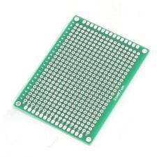 5 Pcs de placa de circuito impreso PCB verde de cobre Prototipo con doble l F2E9
