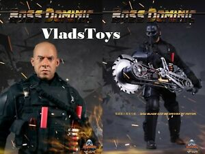 Art Figure 1/6 The Fate of the Furious Boss Dominic Vin Diesel Figure AF-024 USA