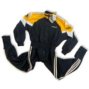 Adidas Sitor Overall Gr. M 90er Neu Training vintage 90s gelb Fußball