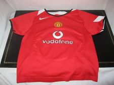 Ancien MAILLOT NIKE MANCHESTER UNITED VODAFONE PETIT ENFANT Jersey Maglia Child