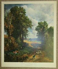 "John Constable, The Cornfield, Large Traditional Vintage Landscape Print 20""x24"""