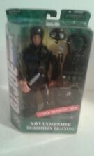 "Gi Joe Navy Underwater Demolition Training 12"" Action Figure, 2005 Hasbro, MISP"