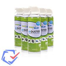 48 x Air Duster Reinigung 400ml Green Blue Putz Spray Druckluft Spray Reiniger