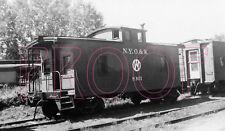 New York, Ontario & Western (NYO&W) Caboose 8301 - 8x10 Photo