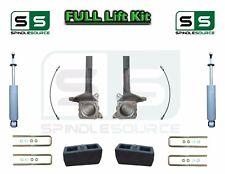 "3.5"" / 2"" Spindle Block LIFT Kit rear Shocks, fits 2007 - 18 Toyota Tundra 2WD"