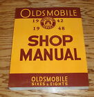 1942 1943 1944 1945 1946 1947 1948 Oldsmobile 6 8 Cylinder Shop Service Manual