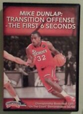 mike dunlap  TRANSITION OFFENSE - THE FIRST 6 SECONDS     DVD R
