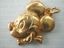 Feve métal doré pendentif DISNEY - MICKEY