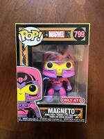 Funko Pop Marvel #799 Magneto Black Light Target Exclusive