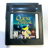 Nintendo GameBoy Color - Quest for Camelot Game Tested + Working!