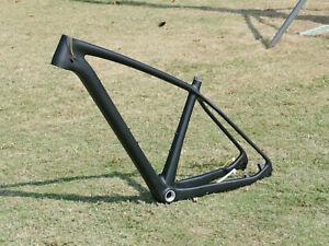 """Toray Carbon Matt 29er Mountain Bike Frame BB30 MTB Frame  21"""" 142 *12 / 135mm"""