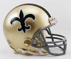 NEW ORLEANS SAINTS NFL Riddell VSR-4 ProLine THROWBACK Mini Football Helmet