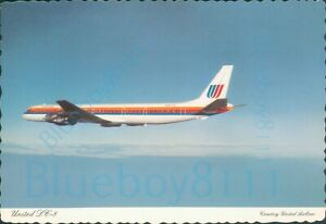 United Airlines  DC 8 61 Friend ship