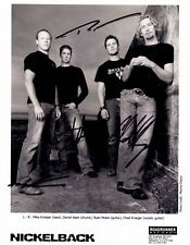 Nickelback Autographed Signed 8x10 Photo Reprint