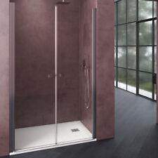 Porta doccia 85 cm box doccia saloon cristallo trasparente 6mm altezza 195h