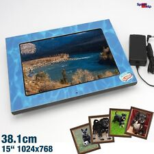 "38CM 15"" COMPOSITOR PF10.271W DIGITAL FOTO PHOTO FRAME WERBUNG COLLAGE JPG VESA"