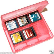 BOÎTE Rouge POUR 22 JEUX New 3DSXL/New3DS/2 DS/3DS /DS LITE /DSI /DSI XL Etc