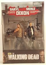 AMC's The Walking Dead DARYL & MERLE DIXON 2-Pack Action Figures McFarlane Toys