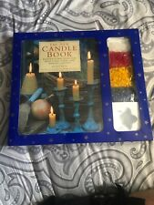 The New Candle Book Kit Craft Candle Making Ideas New Condition !!