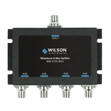 Wilson Electronics 4 Way 75 Ohm Splitter -6 db (F-Female) 850036