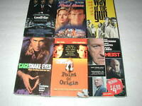 ACTION MOVIES 6 PACK VHS MOVIE LOT RARE OOP HTF