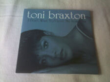 TONI BRAXTON - I DON'T WANT TO / I LOVE ME SOME HIM - CARD SLEEVE CD SINGLE