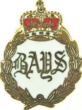 THE QUEENS BAYS 2ND DRAGOON GUARDS REGIMENT PLATEDHANDMADE IN UK LAPEL PIN BADGE