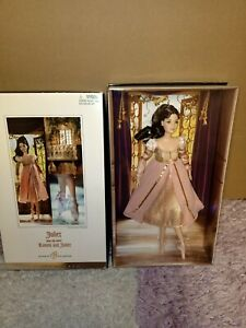 Barbie Collector Juliet from ballet Romeo and Juliet Silver Label  Mattel NRFB