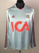 IFK Goteborg 2003/2004 ADIDAS Away Long Sleeve Football Shirt Mens Size L Jersey