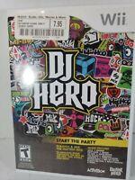 DJ Hero - Nintendo  Wii Game