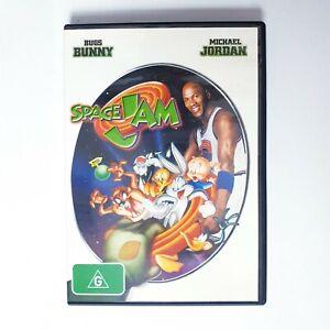 Space Jam Movie DVD Region 4 AUS Free Postage - Kids Comedy Michael Jordan