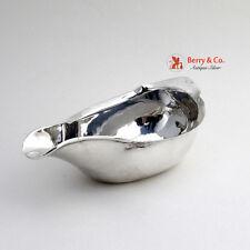 Georgian Pap Boat Sterling Silver London 1797