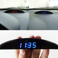 12V Digital LED Alarm Auto Electronic Car Clock Voltmeter Thermometer Calen T3D5