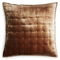 Hudson Park Collection Pietra Quilted Euro Pillow Sham $110