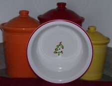 Fiesta ®Ware CHRISTMAS TREE ON A ONE QUART SERVING BOWL FIRST QUALITY IN BOX
