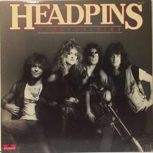 Headpins - Line of Fire - Vinyl 33 Tours (1983)