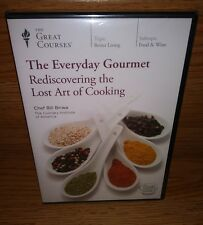 Great Courses The Everyday Gourmet Rediscovering the Lost Art of Cooking NEW DVD