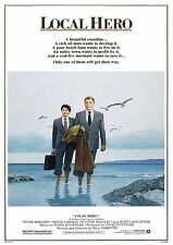 LOCAL HERO 1983 Burt Lancaster, Peter Riegert - Movie Cinema Poster Film Art